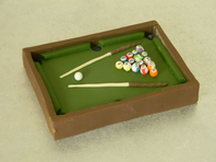 Pool Table Cake Topper